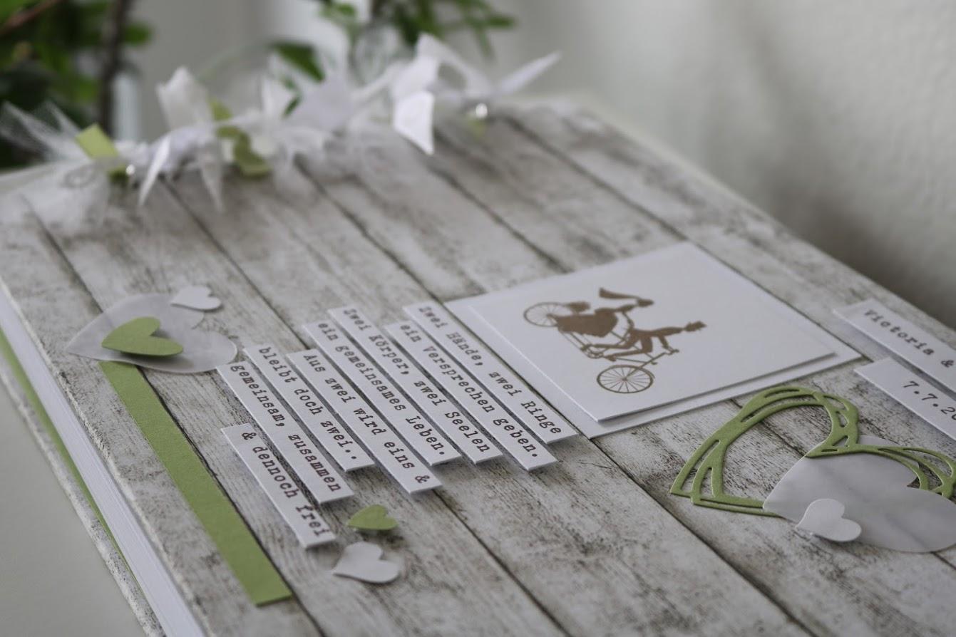 Hochzeitsalbum mit 50 Blatt 139.-€