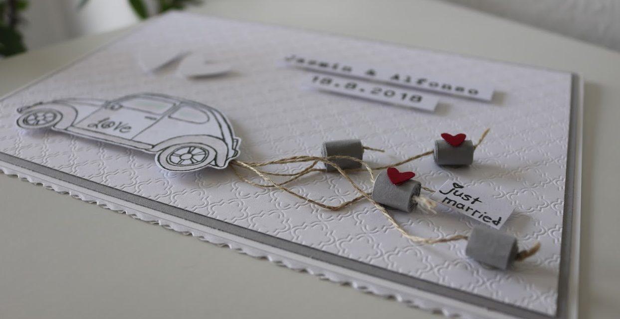 Hochzeitskarte VW – individualisierbar