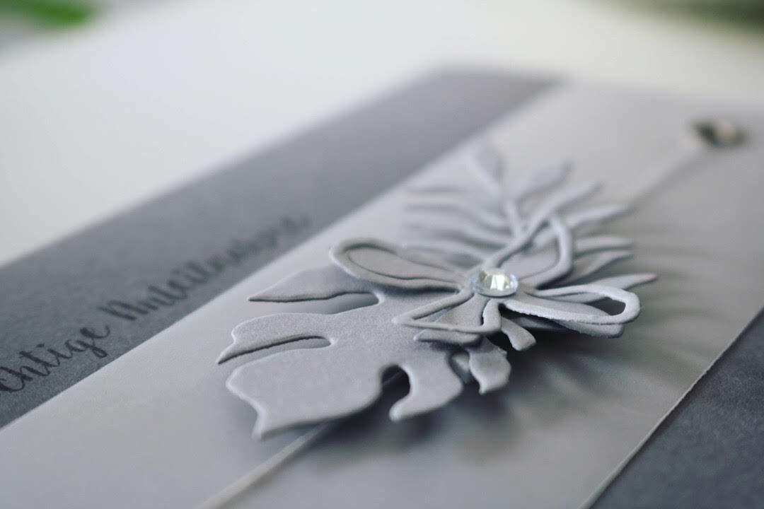 "Trauerkarte ""Blumenbouquet"""